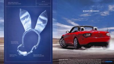 Mazda Miata Playboy Print